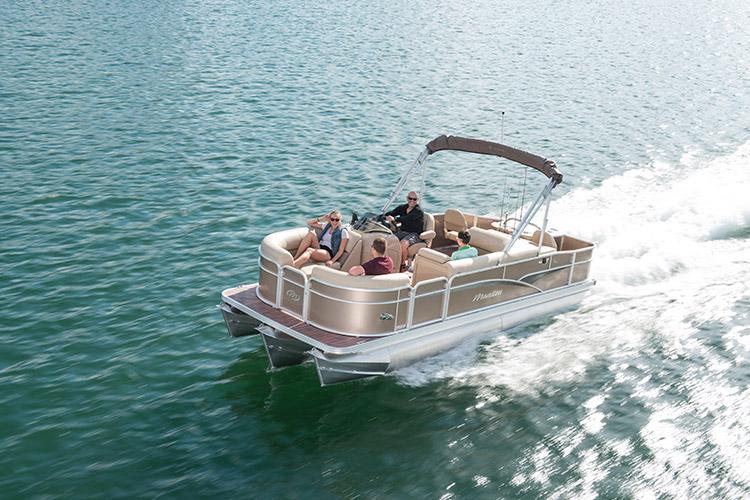 Manitou Oasis Angler Pontoon Boats