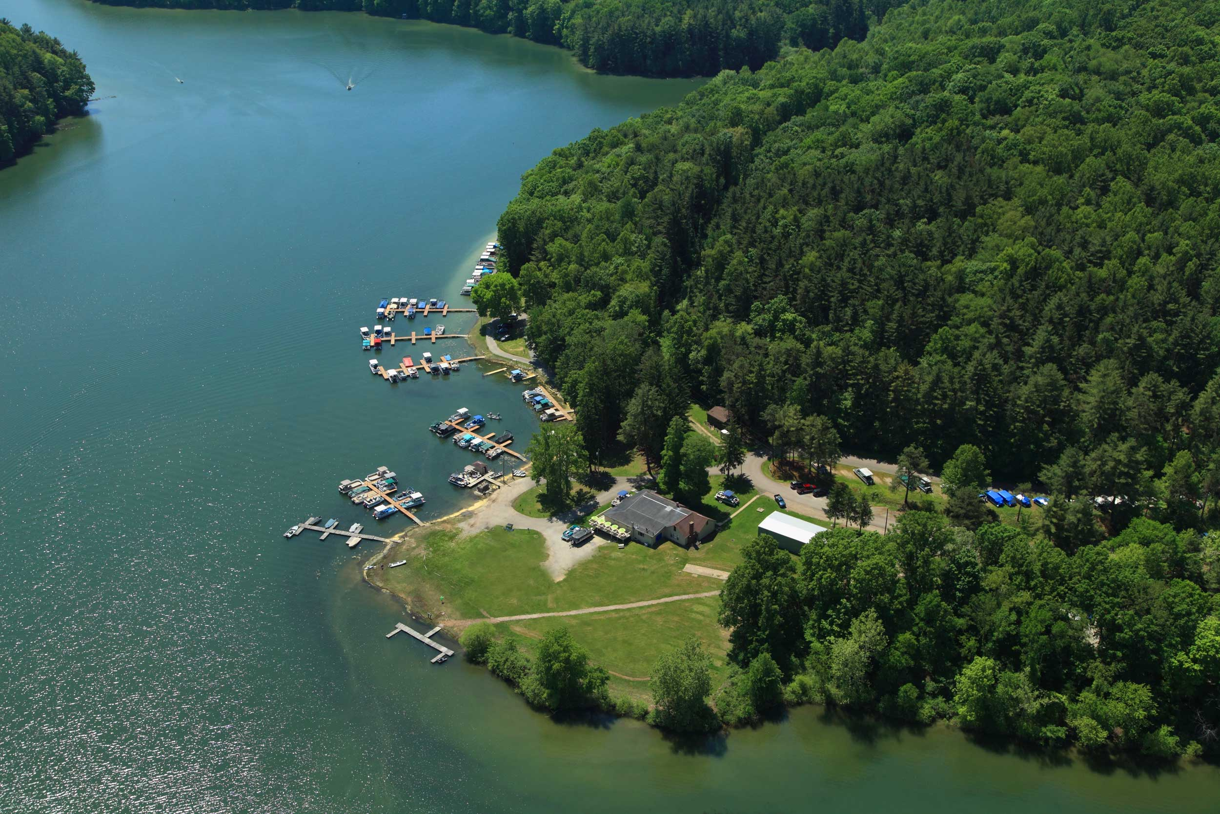 Leesville Lake South Fork Marina